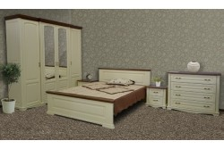 Меблі з дуба у спальню  «ЄВРОПА»